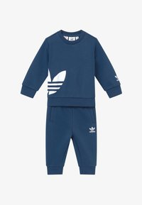 adidas Originals - BIG TREFOILCREW SET - Treningsdress - marin/white - 3