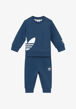 BIG TREFOILCREW SET - Tracksuit - marin/white