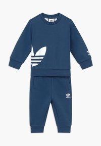 adidas Originals - BIG TREFOILCREW SET - Treningsdress - marin/white - 0