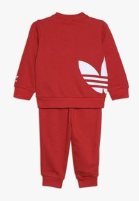 adidas Originals - BIG TREFOILCREW SET - Dres - red/white - 1
