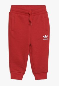 adidas Originals - BIG TREFOILCREW SET - Træningssæt - red/white - 2
