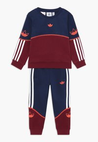 adidas Originals - OUTLINE CREW - Survêtement - red/blue/white - 0