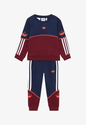 OUTLINE CREW - Tracksuit - red/blue/white