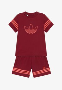 adidas Originals - OUTLINE SET - Trainingsbroek - dark red - 3