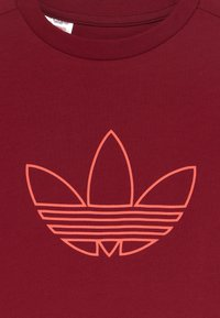 adidas Originals - OUTLINE SET - Trainingsbroek - dark red - 4