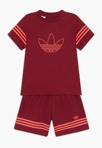 adidas Originals - OUTLINE SET - Trainingsbroek - dark red - 0