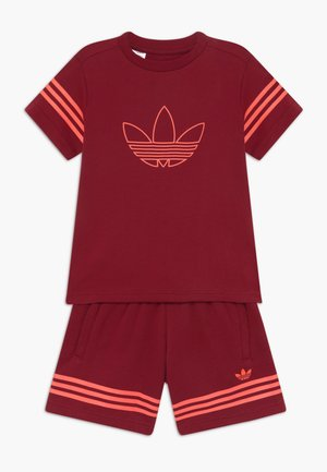 OUTLINE SET - Trainingsbroek - dark red