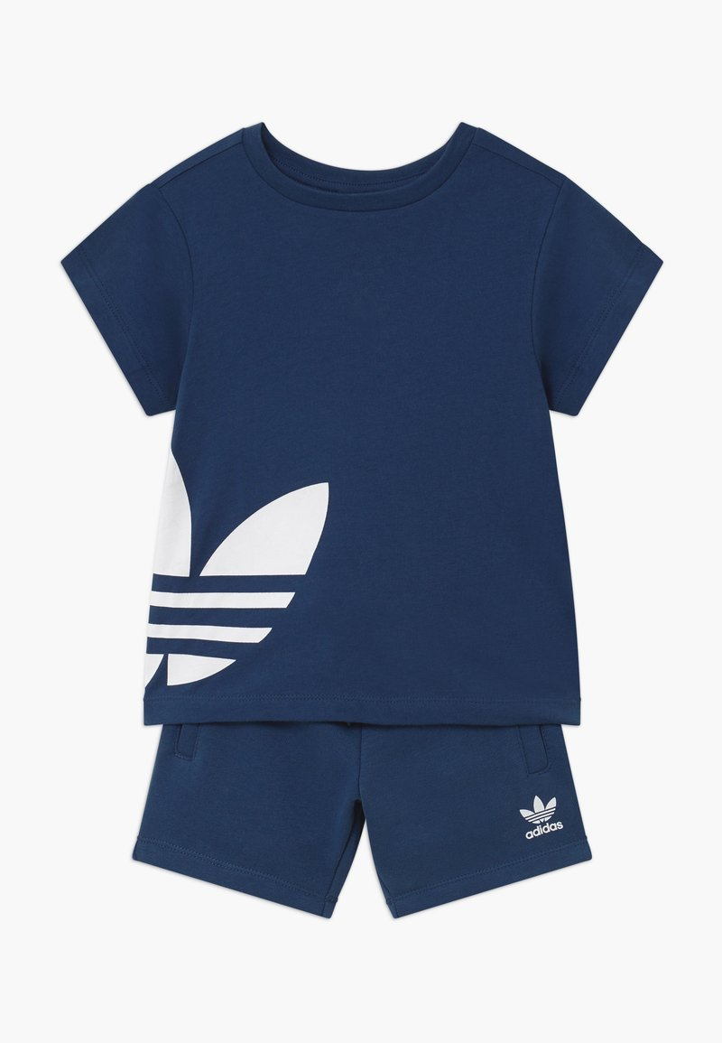 adidas Originals - TREFOIL SET - Pantalon de survêtement - dark blue