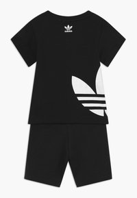 adidas Originals - TREFOIL SET - Trainingsbroek - black/white - 1