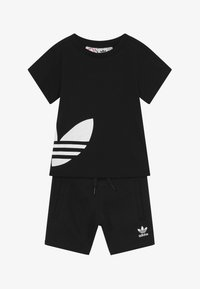adidas Originals - TREFOIL SET - Trainingsbroek - black/white - 3