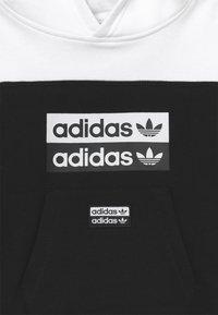 adidas Originals - HOODIE SET - Tracksuit - black/white - 4