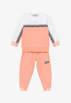 CREW SET - Trainingsanzug - pink/white