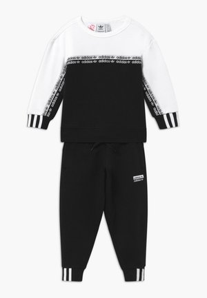 CREW SET - Survêtement - black/white