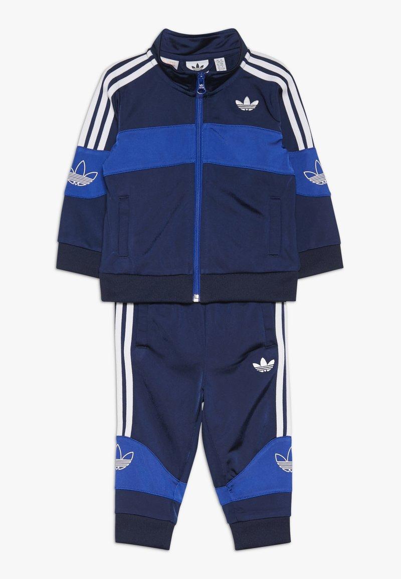 adidas Originals - BANDRIX - Chaqueta de entrenamiento - night indigo/royal blue/white