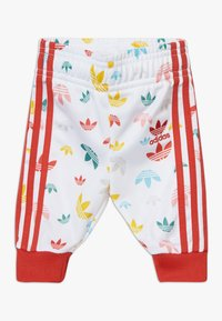 adidas Originals - SET - Zip-up hoodie - white/multcoloured/red