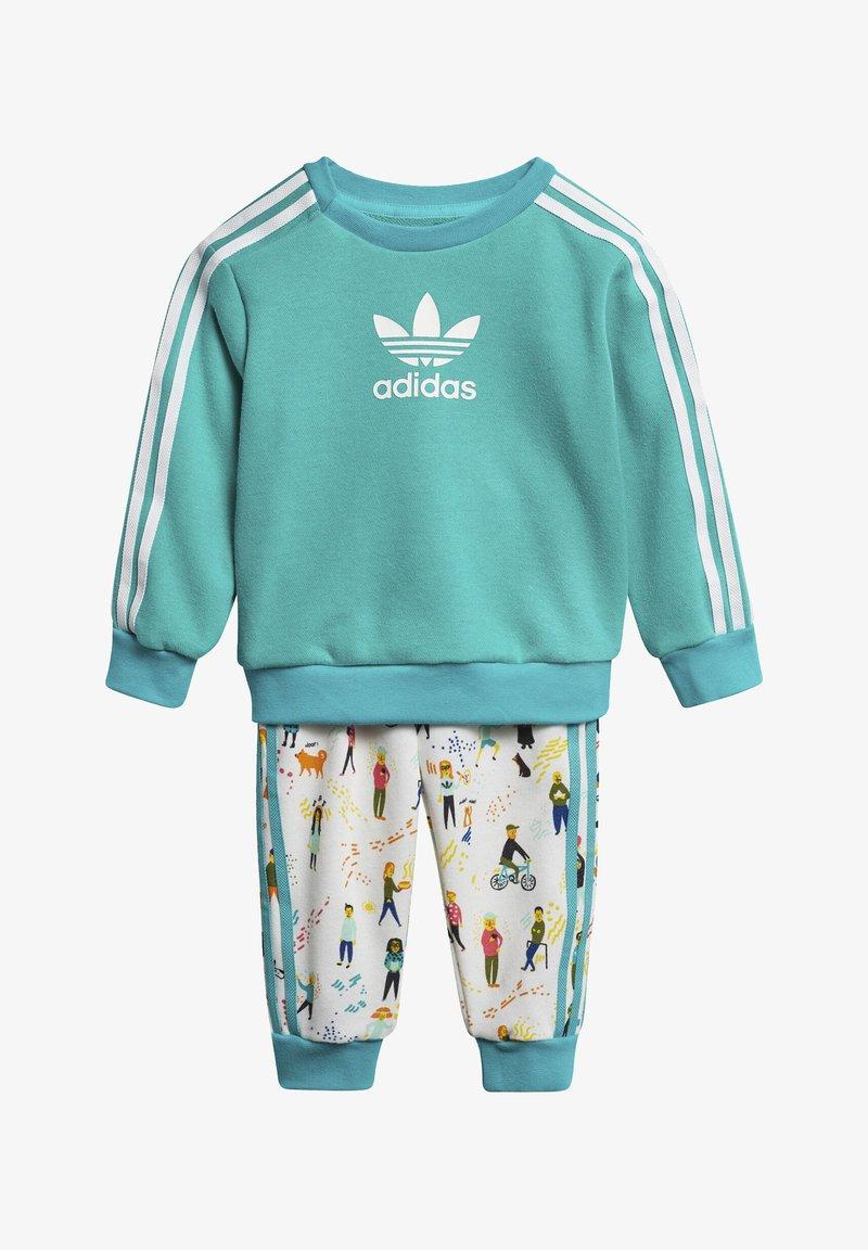 adidas Originals - CREWNECK SET - Pullover - turquoise