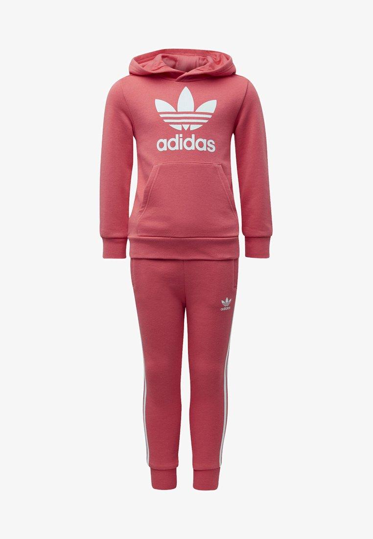 adidas Originals - TREFOIL HOODIE SET - Verryttelypuku - pink