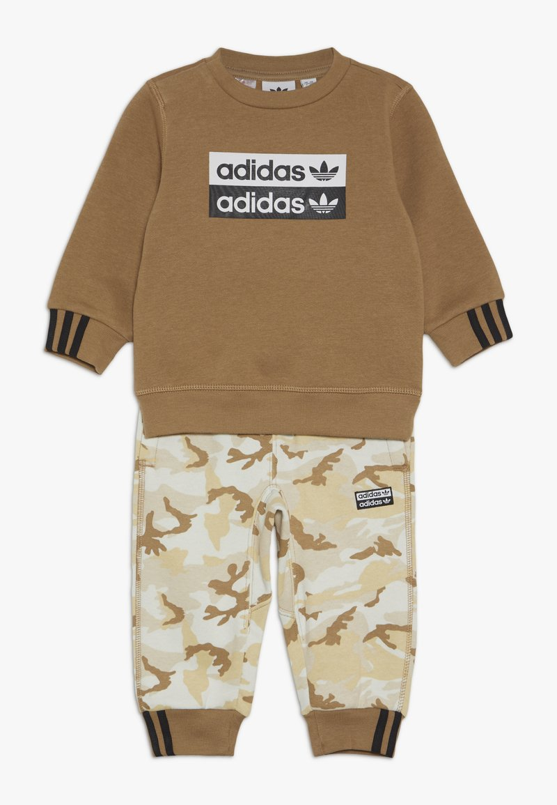 adidas Originals - V-OCAL CREW SET - Survêtement - cardbo
