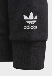 adidas Originals - BIG TREFOIL HOODIE SET - Tuta - black - 3