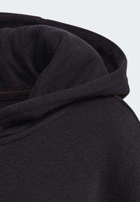 adidas Originals - BIG TREFOIL HOODIE SET - Tuta - black - 4