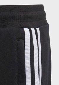 adidas Originals - BIG TREFOIL HOODIE SET - Tuta - black - 2