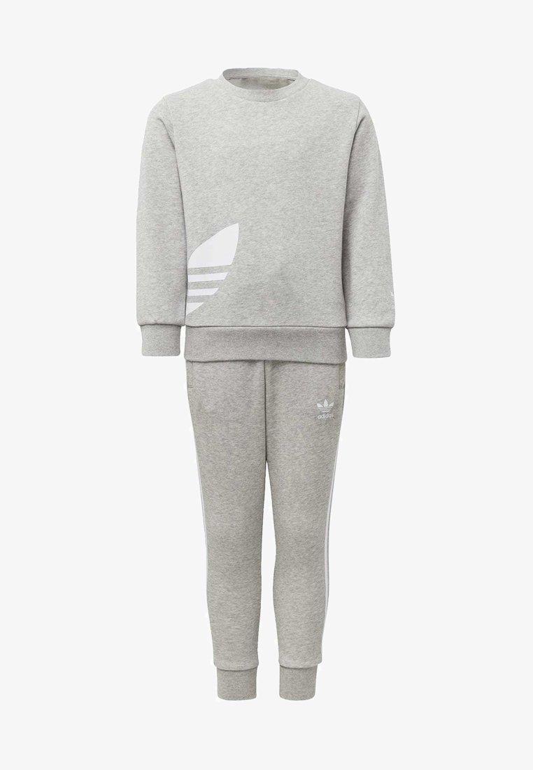 adidas Originals - BIG TREFOIL CREW SET - Tracksuit - grey
