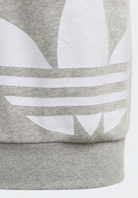 adidas Originals - BIG TREFOIL CREW SET - Tracksuit - grey - 4
