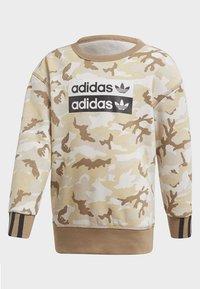 adidas Originals - R.Y.V. CAMOUFLAGE CREW SET - Sweatshirt - brown - 2