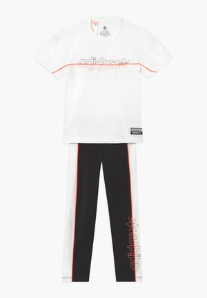 TEE SET - Leggings - Trousers - white