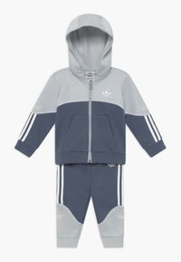 adidas Originals - OUTLINE HOOD SET - Trainingsanzug - light grey - 0