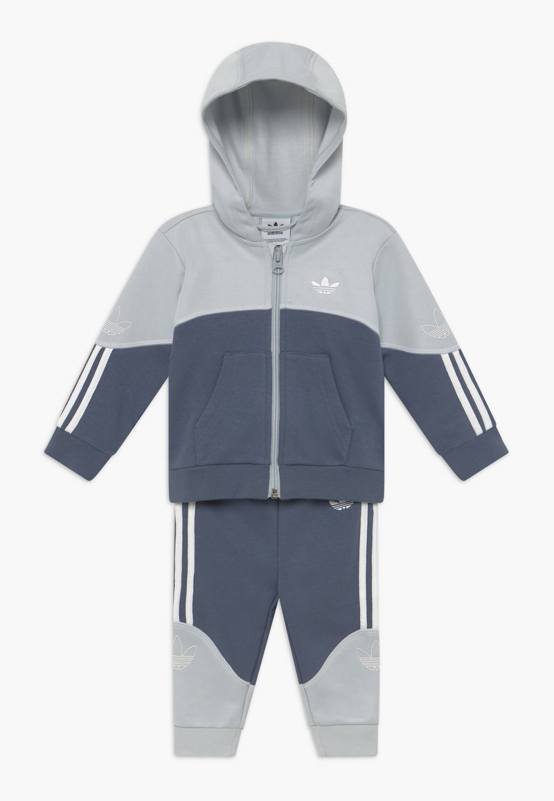adidas Originals - OUTLINE HOOD SET - Trainingsanzug - light grey