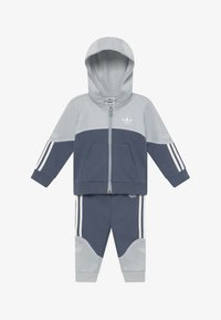 adidas Originals - OUTLINE HOOD SET - Trainingsanzug - light grey - 3