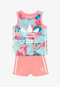adidas Originals - TANK SET - Pantalones - pink - 3