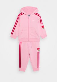 adidas Originals - TREFOILHOOD SET - Zip-up hoodie - light pink - 2