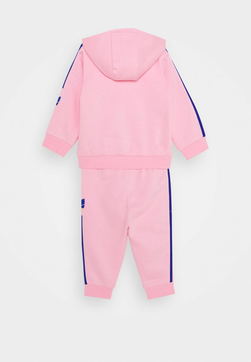 adidas Originals - TREFOILHOOD SET - Zip-up hoodie - light pink