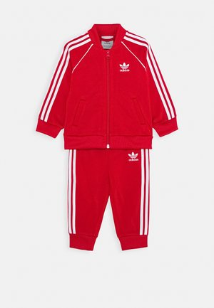 TRACKSUIT SET - Survêtement - scarlett/white