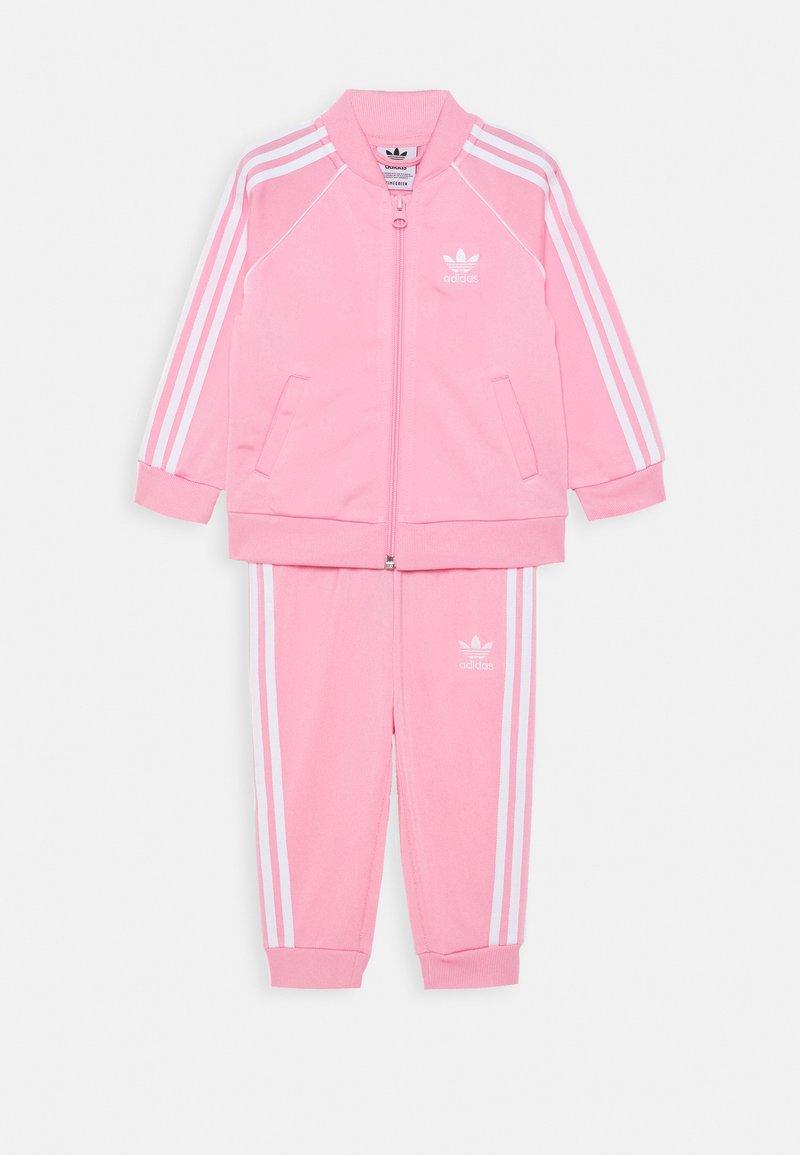 adidas Originals - TRACKSUIT SET - Survêtement - pink/white