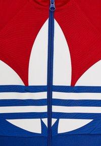 adidas Originals - BIG TREFOIL SET - Veste de survêtement - scarlet/royal blue/white - 3