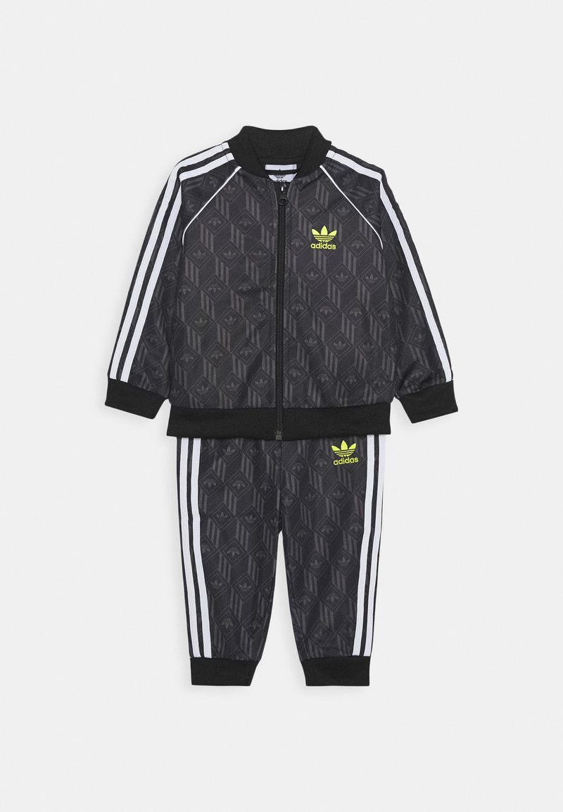 adidas Originals - SET - Mikina na zip - black/grefiv/white