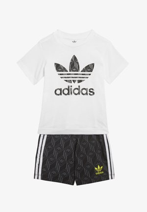 SHORTS AND TEE SET - Shorts - white