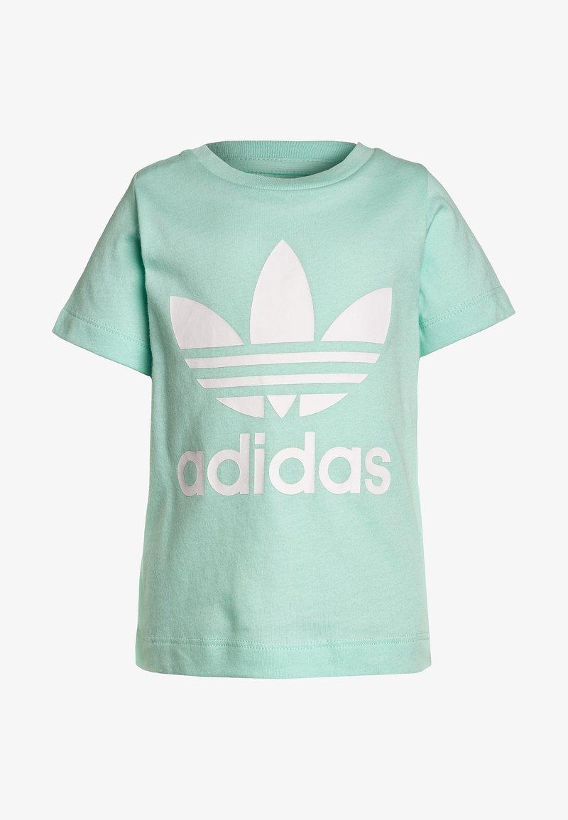 adidas Originals - TEE - T-shirt print - clear mint/white
