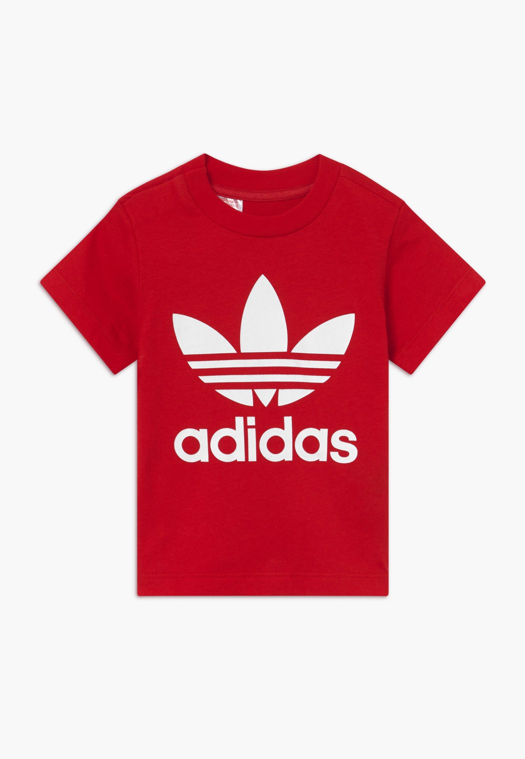adidas Originals TREFOIL TEE T shirt imprimé scarle