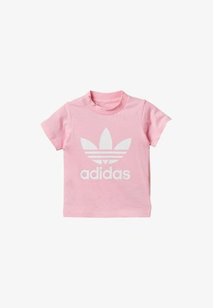 TREFOIL TEE - T-shirt print - pink/white