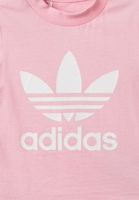 adidas Originals - TREFOIL TEE - Triko spotiskem - pink/white - 4