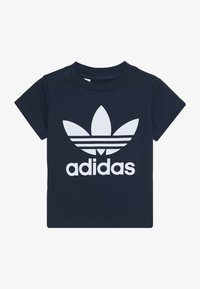 adidas Originals - TREFOIL TEE - T-shirt print - conavy/white - 2