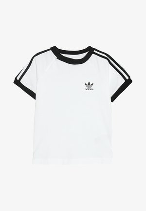 STRIPES TEE - T-shirt imprimé - white/black