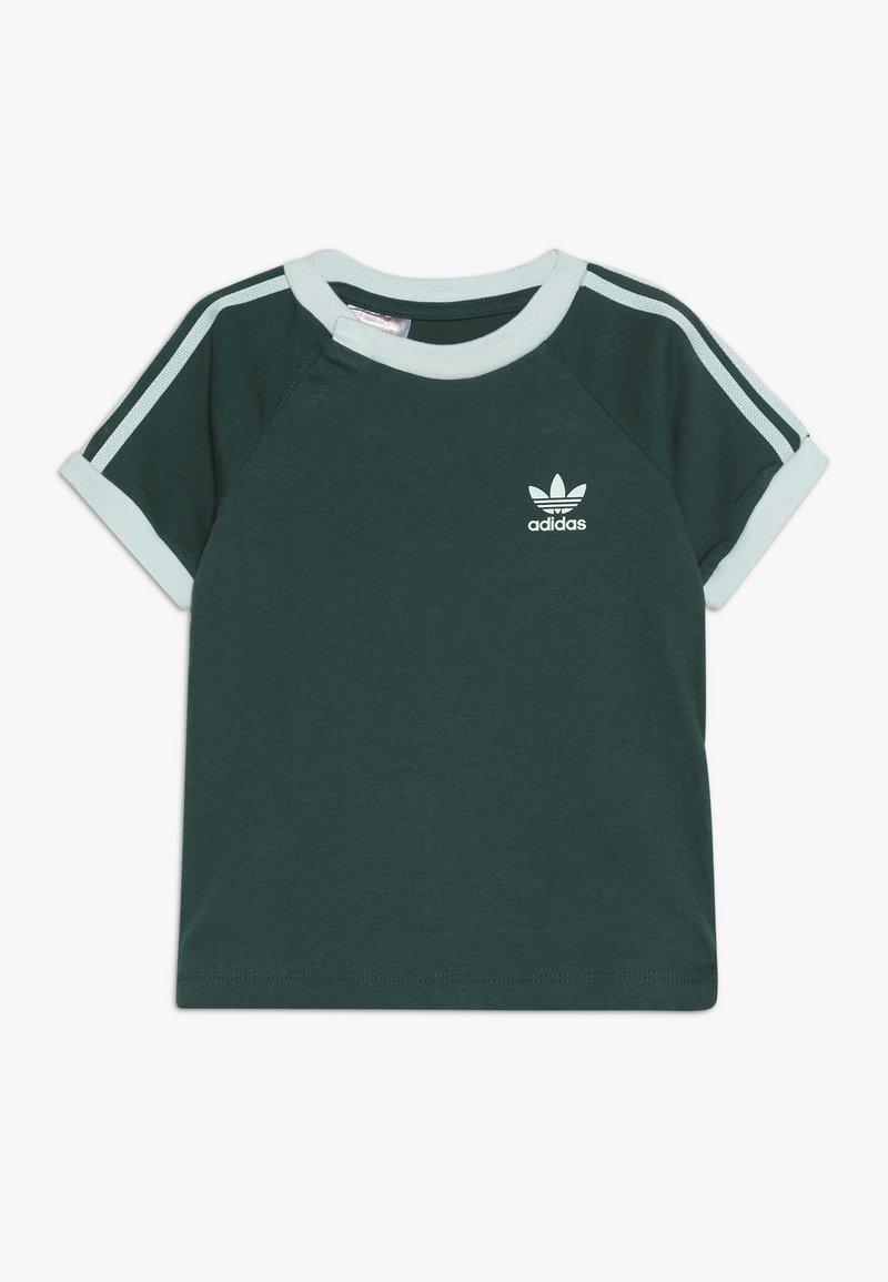 adidas Originals - STRIPES TEE - Print T-shirt - green
