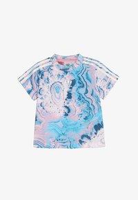 adidas Originals - MARBLE TEE - T-shirt print - multco/white - 2