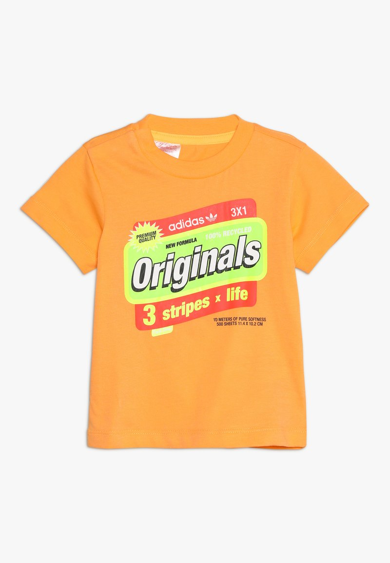 adidas Originals - GRAPHIC TEE - Print T-shirt - orange