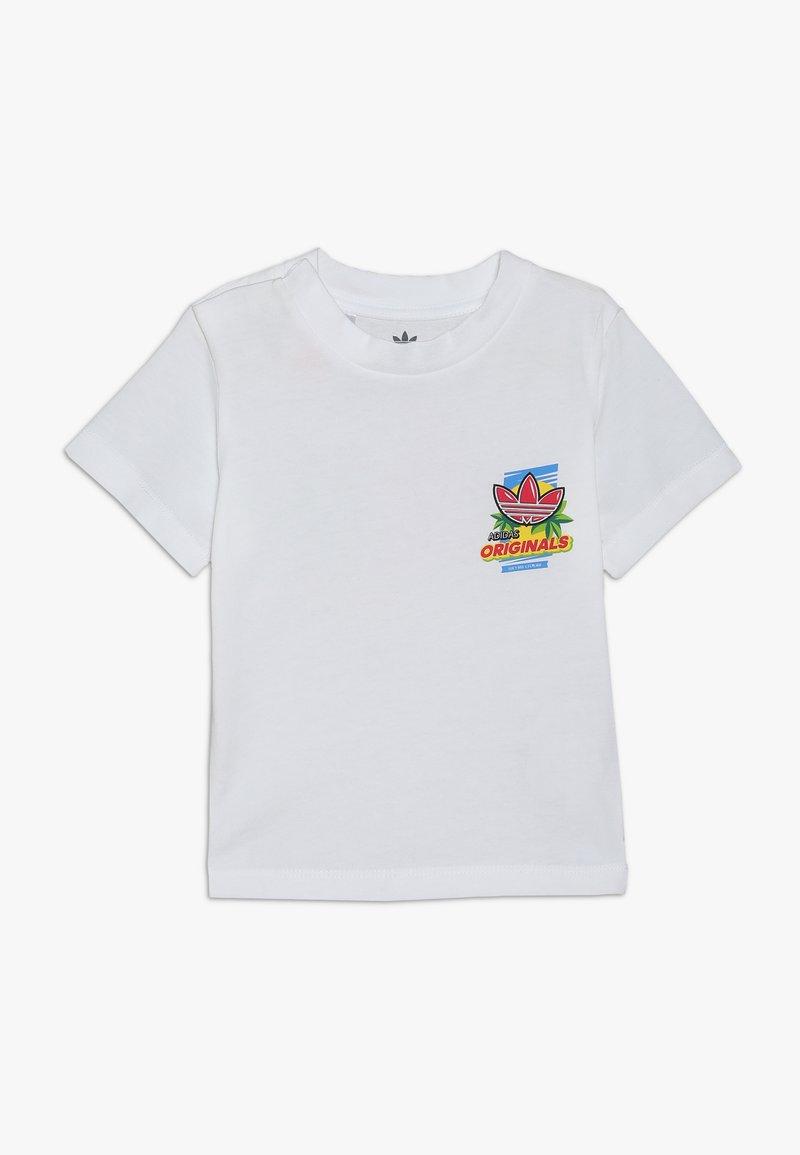 adidas Originals - GRAPHIC TEE - Camiseta estampada - white